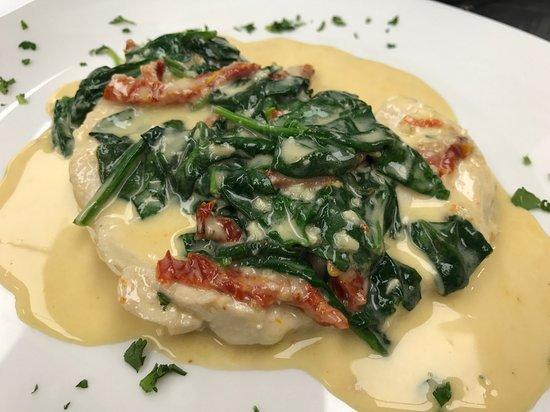Othello's Italian Restaurant: New Keto Friendly Creamy Tuscan Chicken!