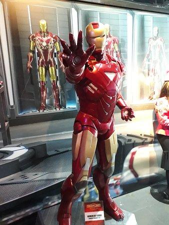 Museu de Cera: Homem de Ferro