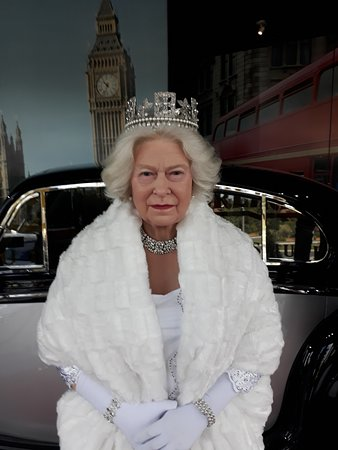 Museu de Cera: Rainha Elizabeth II
