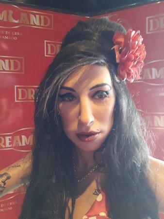 Museu de Cera: Amy Winehouse