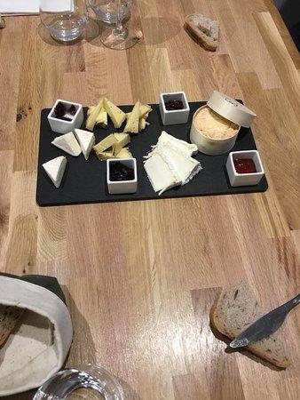 Planche de 4 fromages de saison