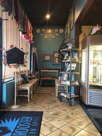 Clyde, Carolina del Norte: Homey atmosphere and decor
