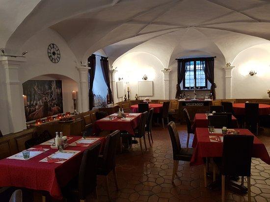 Fideris, Schweiz: Restaurant