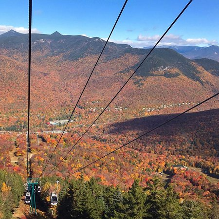 Loon Mountain Resort: We missed the peak colors but this was still great!