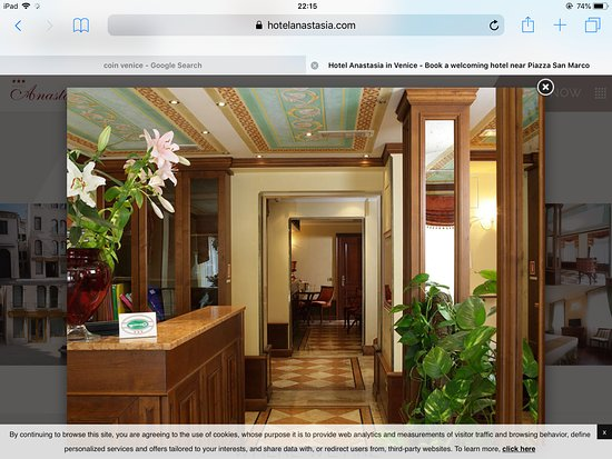 Hotel Anastasia: Reception picture from website