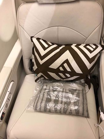 Fiji Airways: Business Class Seat