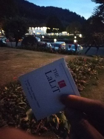 Royal experience at the lalit and saw the chinar which was planted by the owner laliT suri itsel