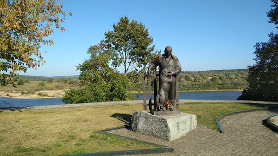 Monument to Paustovskiy