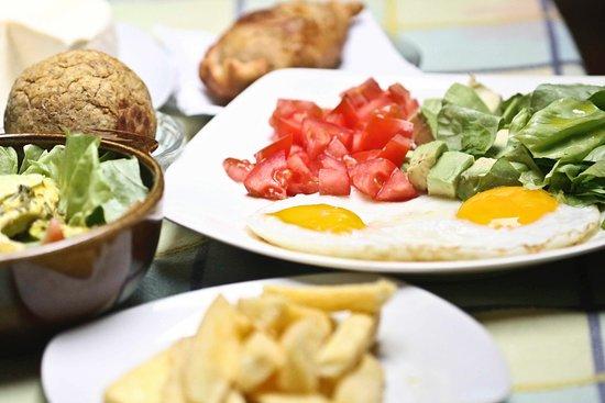 Nanegalito, Ecuador: Comida saludable