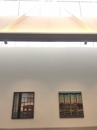 Open and airy galleries