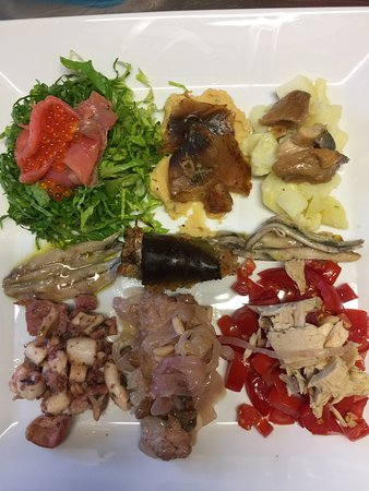 Papposileno: piatto degustazione di pesce