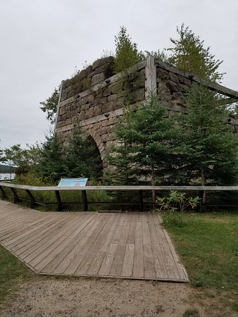 Christmas, MI: Remains of the furnace