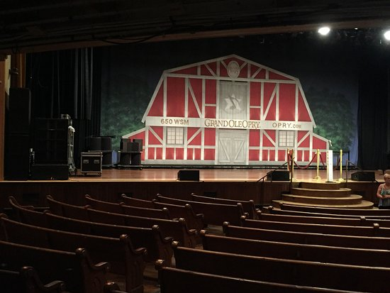 Grand Ole Opry Stage Nashville Tn Bild Von Great Falls Park