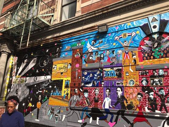 Harlem Historical Food Tour: Harlem Mural part 2