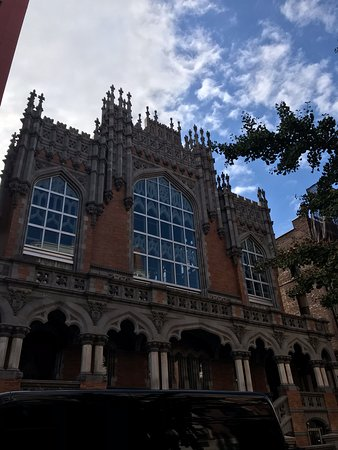 Harlem Historical Food Tour: Former church, now event space