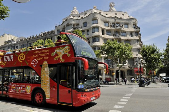 Barcelona City Tour Hop-On Hop-Off (354982592)