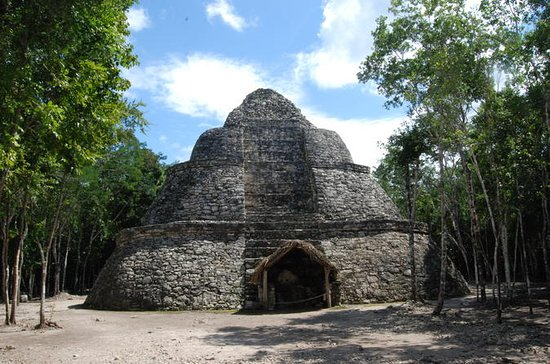 Cancun Combo: Xel-Ha and Coba Ruins in...