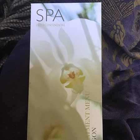 Spa treatments in hotel