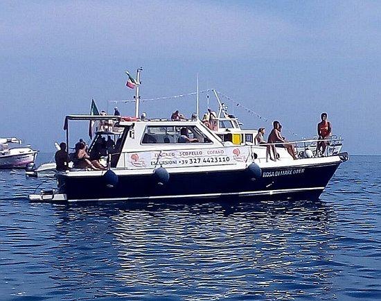 Rosa di Mare - Escursioni in Barca