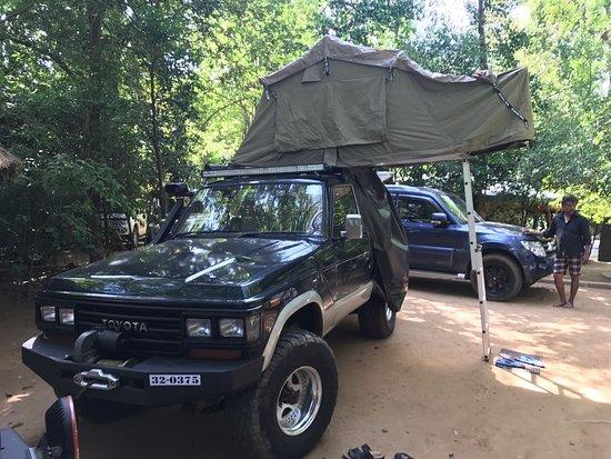 Sri Lanka Banee Tours:   4x4 Jeep Tours in Sri Lanka with Camping Tour