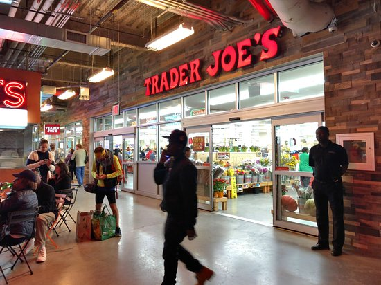 Dekalb Market Hall: Trader Joe's