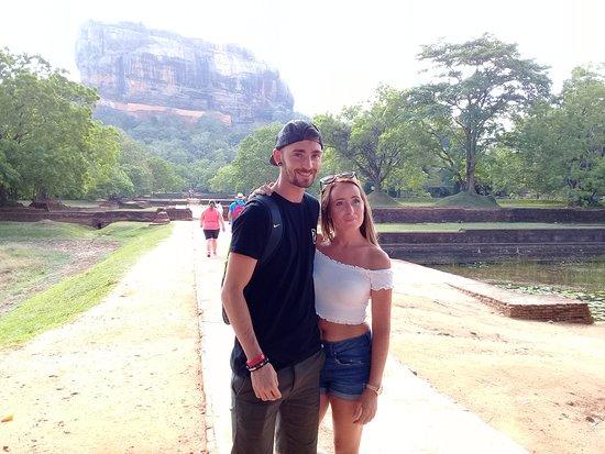 At Sigiriya Rock Fortress