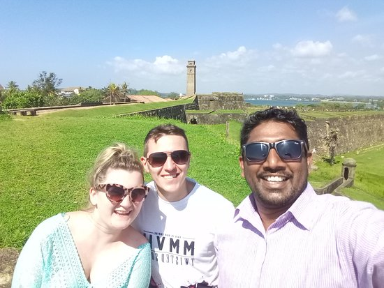 At Galle Dutch Fort