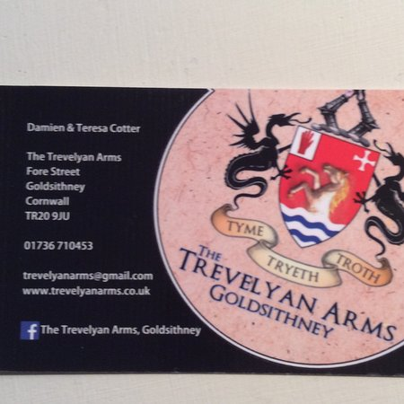Goldsithney, UK: Trevelyan Arms