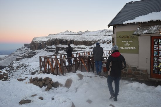 Sani Pass, Lesotho: The highest pub in Africa