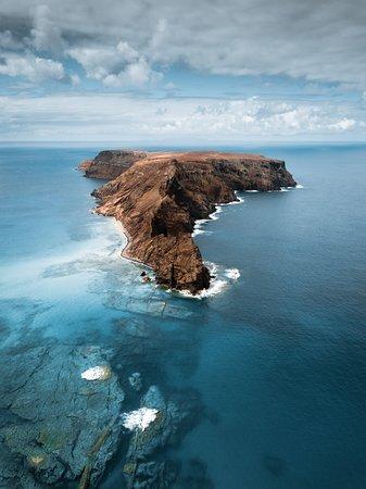 Madeira Islands, Portugal: Ilhéu da Cal in Porto Santo Island. What an incredible place! #visitmadeira #portosanto #madeiranowordsneeded #sea # island #islandlife ©JessicaReis