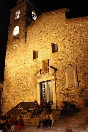 Vaglio Basilicata, Italie : Sempre veduta esterna di sera durante il percorso enogastronomico e storico culturale di Vaglio