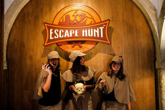 The Escape Hunt Experience - Lisbon