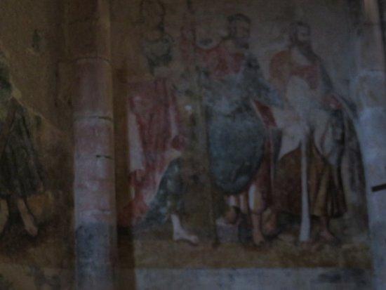 Marcilhac-sur-Cele, فرنسا: Peinture murale