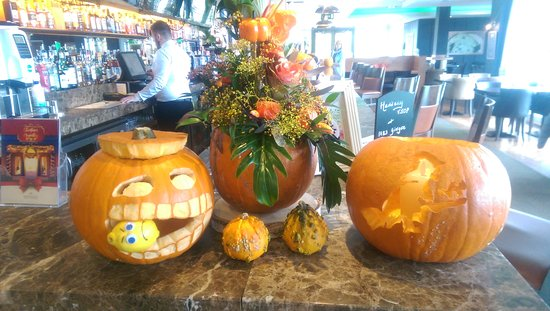 Moyvalley, Irland: Halloween Decor