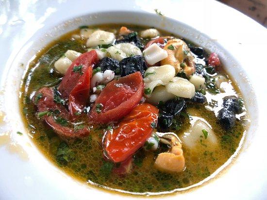 Alle Darsene di Loppia: soup