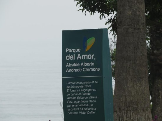El Parque del Amor: Ah, o Amor..