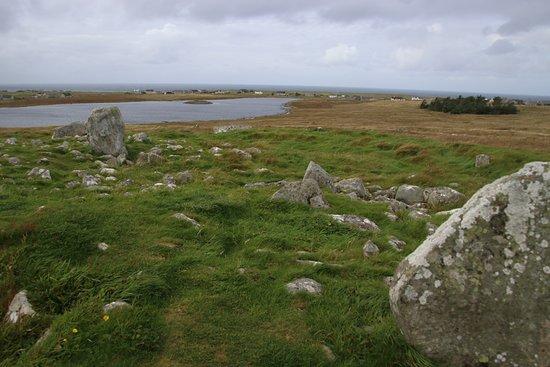 Isle of Lewis, UK: Steinacleit Stones