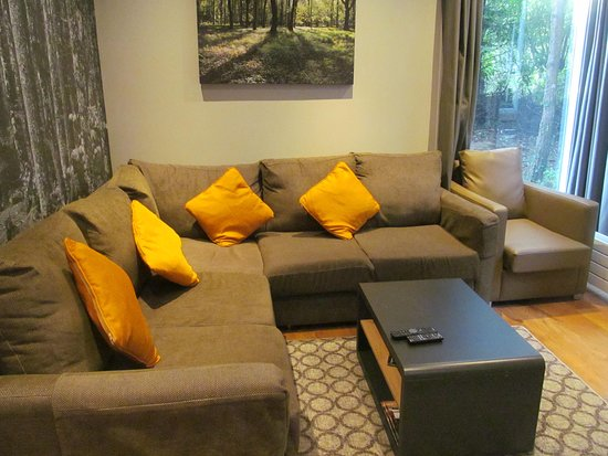 Center Parcs Longleat Forest New Woodland Lodge Lounge Area
