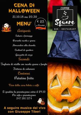 ✅ Mercoledì 31.10 ore 20:30 ✅ 🎃 Cena di Halloween 🎃- Ristorante Calangianus -
