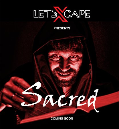 LetsXcape : SACRED - Our second immersive escape experience coming for January 2019
