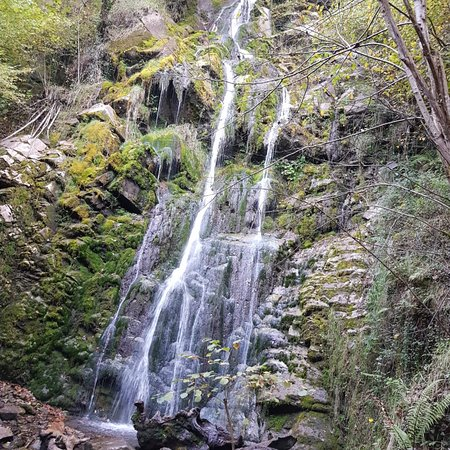 Aller Municipality, Hiszpania: Cascada de Xurbeo