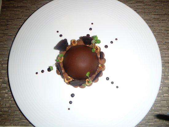 Tharon-Plage, France: Chocolat noisettes