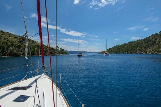 Nerezisca, Croacia: entrance to bay