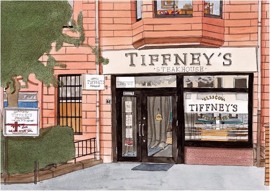 Tiffneys Steakhouse The Home Of Dry Aged Beef Glasgow