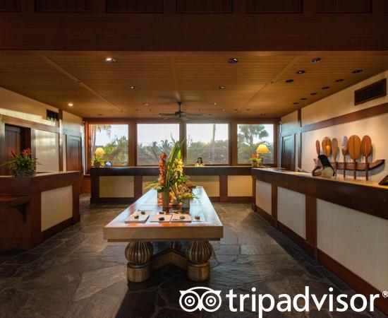 Lobby at the Four Seasons Resort Hualalai