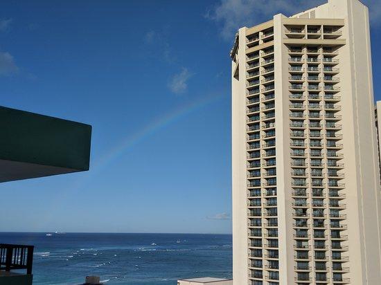 Waikiki Resort Hotel: View from room