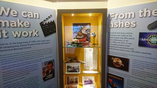 Exhibition Display Boards : Current exhibition display boards picture of elstree and