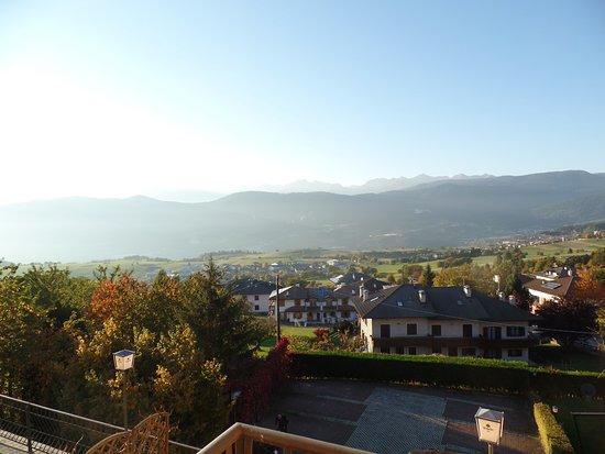 Hotel Stella delle Alpi: Aussicht vom Zimmer