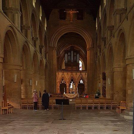 Inside Southwell Minster