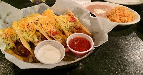 Dallas, PA: Hard Mixed Tacos - Steak, Beef, Pork and Chicken